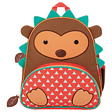 Buy Skip Hop Zoo Backpack, Hedgehog Online at johnlewis.com
