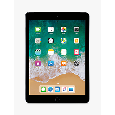 Image of 2018 Apple iPad 9.7, A10, iOS 11, Wi-Fi & Cellular, 128GB