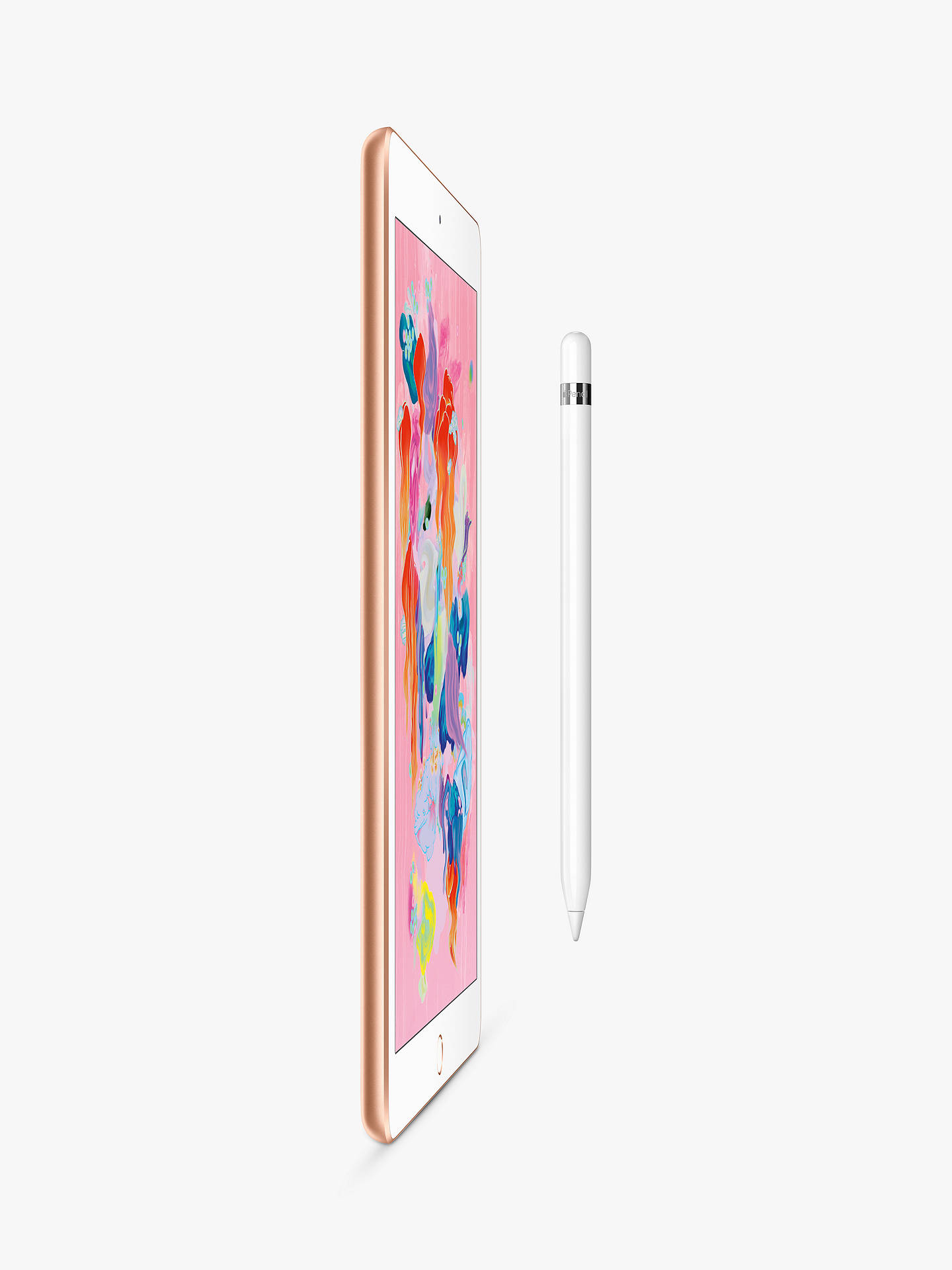 "Buy 2018 Apple iPad 9.7"", A10, iOS 11, Wi-Fi, 32GB, Gold Online at johnlewis.com"
