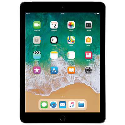 Image of 2018 Apple iPad 9.7, A10, iOS 11, Wi-Fi & Cellular, 32GB