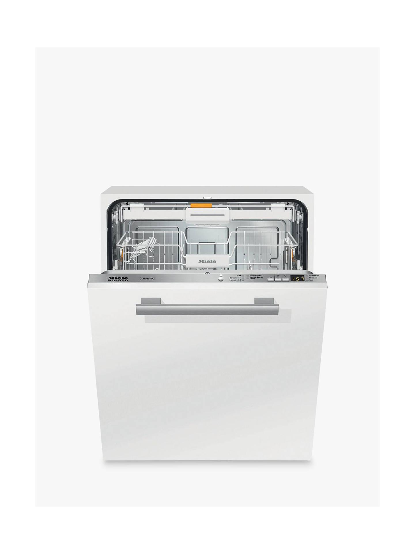 Miele G4990scvi Integrated Dishwasher At John Lewis Partners Washing Machine Wiring Diagram Buymiele Online