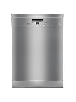 Miele G4940SCCLST Freestanding Dishwasher, Clean Steel