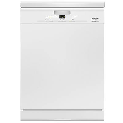 Miele G4940SC Freestanding Dishwasher, White