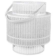 Buy Lattice Lantern Candle Holder, Small Online at johnlewis.com