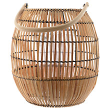 Buy Fusion Bamboo Globe Lantern, Large Online at johnlewis.com