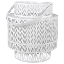 Buy Lattice Lantern Candle Holder, Large Online at johnlewis.com
