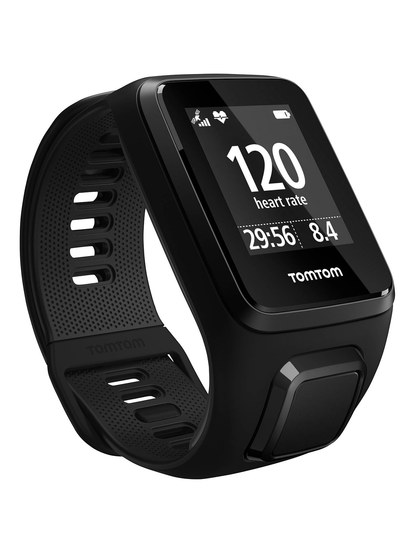 Tomtom Spark 3 Cardio Music Gps Fitness Activity Watch With Built Go Charger Wiring Diagram Buytomtom In Heart Rate