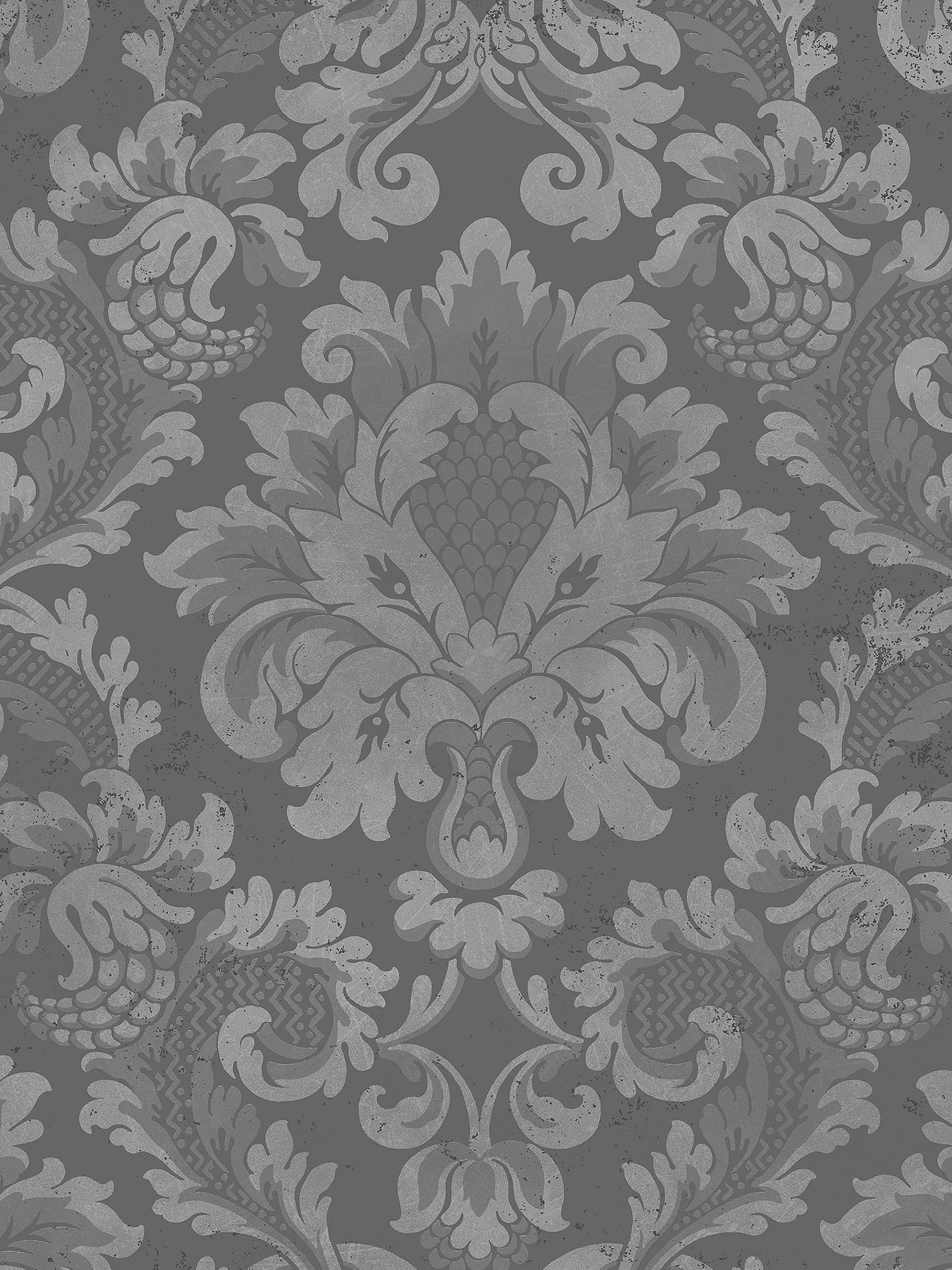 Buy Cole & Son Mariinsky Stravinsky Paste the Wall Wallpaper, Silver 108/4018 Online at johnlewis.com