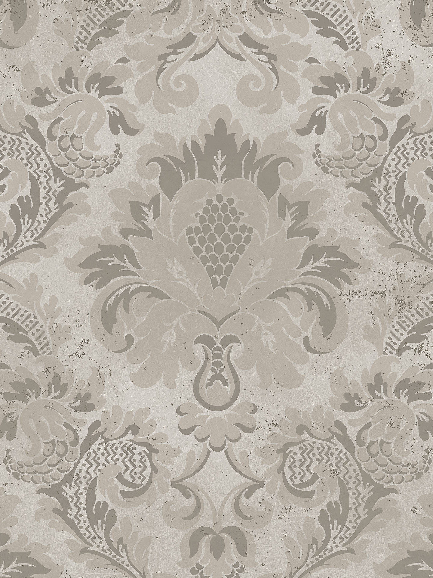 Buy Cole & Son Mariinsky Stravinsky Paste the Wall Wallpaper, Gilver 108/4019 Online at johnlewis.com