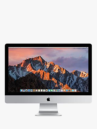 "2017 Apple iMac 27"" Retina 5K Display, Intel Core i5, 8GB RAM, 2TB Fusion Drive, Radeon Pro 580, Silver"