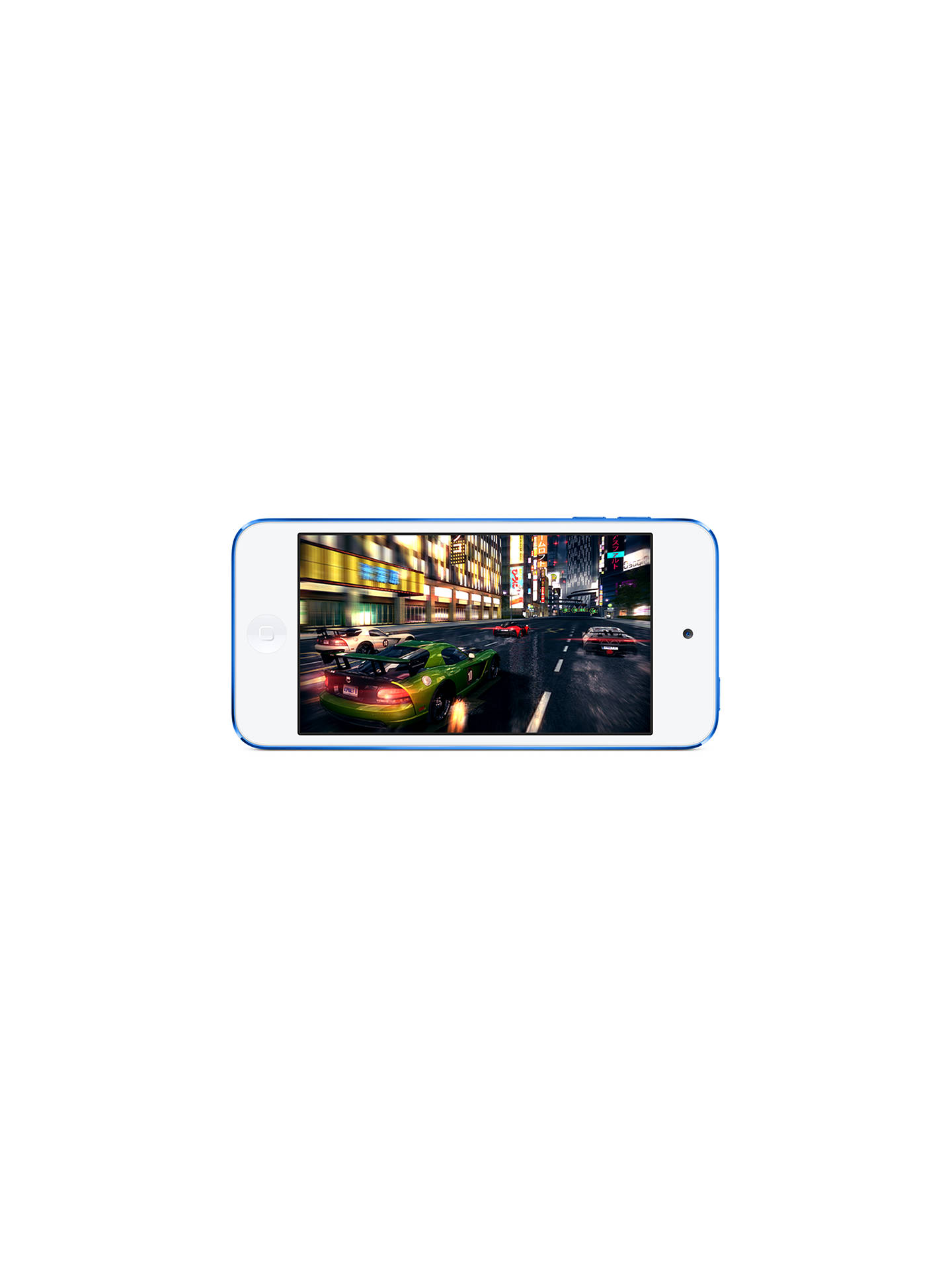 Apple Ipod Touch 128gb Blue At John Lewis Partners Iphone 7 Black Grs International Buyapple Online