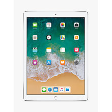 "Buy 2017 Apple iPad Pro 12.9"", A10X Fusion, iOS11, Wi-Fi & Cellular, 256GB Online at johnlewis.com"