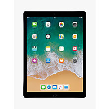 "Buy 2017 Apple iPad Pro 12.9"", A10X Fusion, iOS11, Wi-Fi & Cellular, 512GB Online at johnlewis.com"