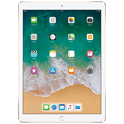 Image of 2017 Apple iPad Pro 12.9, A10X Fusion, iOS11, Wi-Fi & Cellular, 512GB