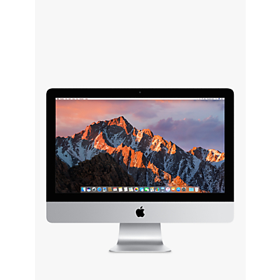 2017 Apple iMac 21.5, Intel Core i5, 8GB RAM, 1TB HDD, Iris Plus Graphics 640, Silver