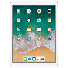 "Buy 2017 Apple iPad Pro 12.9"", A10X Fusion, iOS10, Wi-Fi & Cellular, 64GB Online at johnlewis.com"