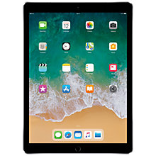 "Buy 2017 Apple iPad Pro 12.9"", A10X Fusion, iOS10, Wi-Fi & Cellular, 256GB Online at johnlewis.com"