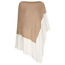 Buy Winser London Cashmere Colour Block Poncho Online at johnlewis.com