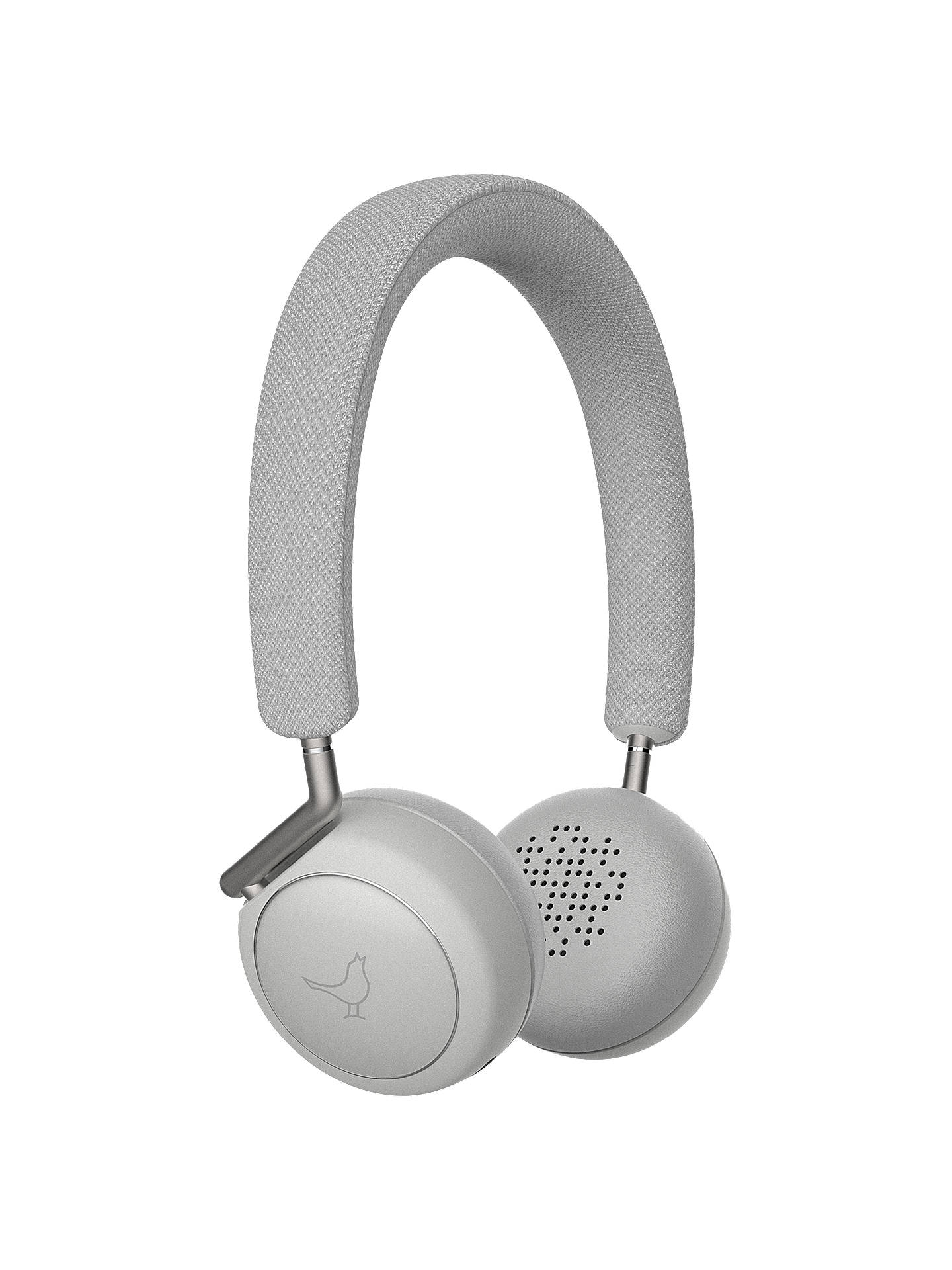 BuyLibratone Q Adapt Noise Cancelling Wireless Bluetooth On Ear Headphones with Mic/Remote, Cloudy White Online at johnlewis.com
