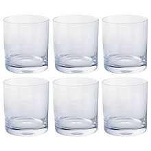 Buy Dartington Crystal All Purpose Tumbler, Set of 6 Online at johnlewis.com