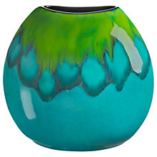 Buy Poole Pottery Tallulah Purse Vase, H20cm Online at johnlewis.com