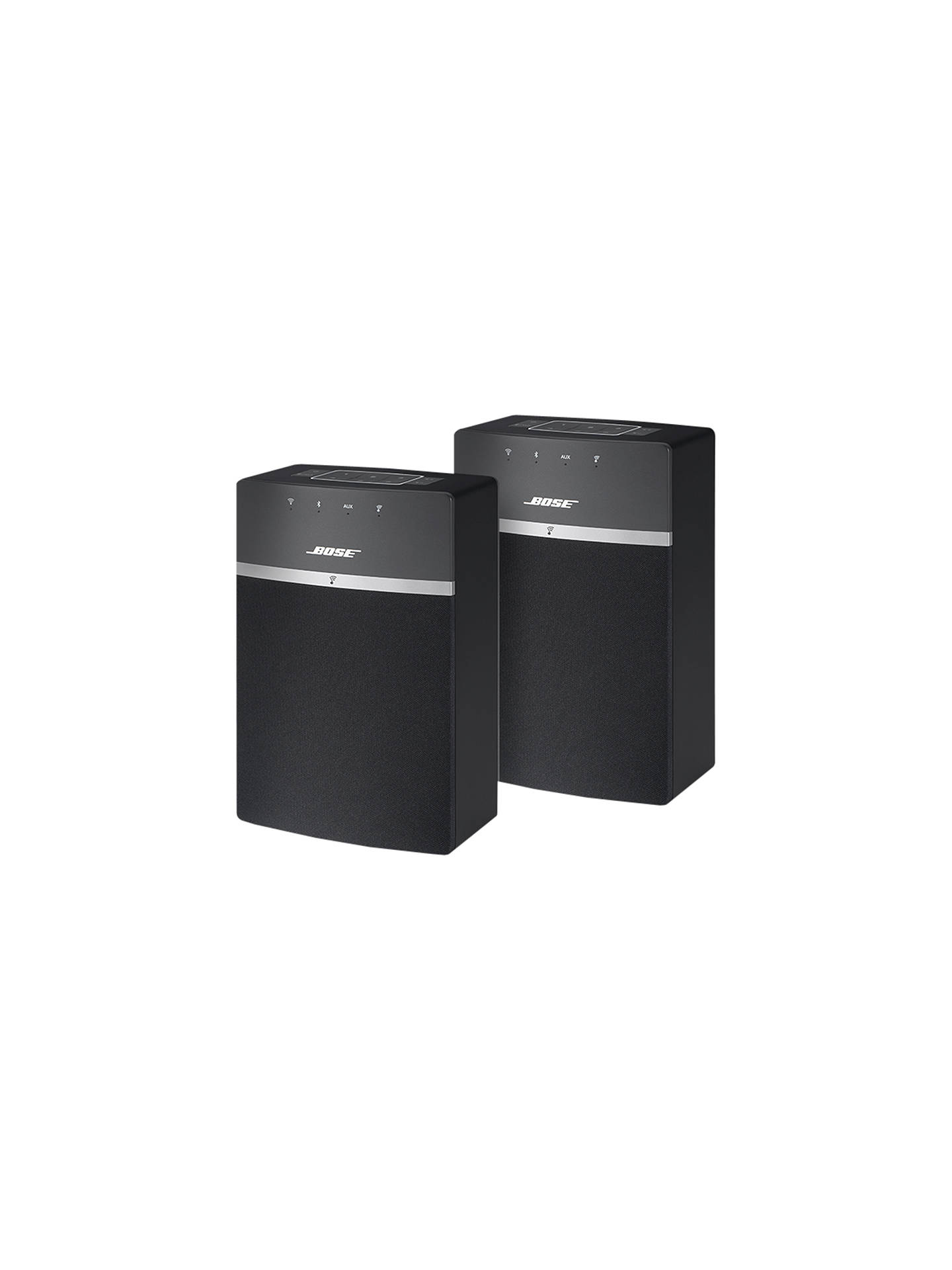 bose soundtouch 10 wireless wi fi bluetooth music system pack of 2 at john lewis partners. Black Bedroom Furniture Sets. Home Design Ideas