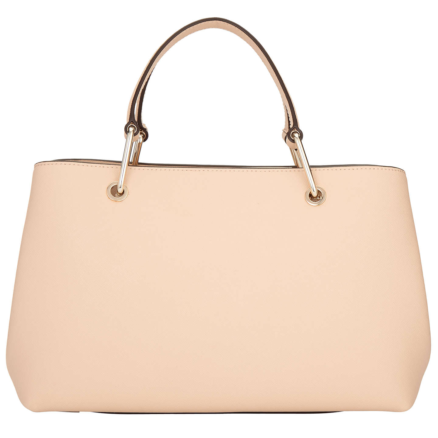 BuyDKNY Bryant Park Saffiano Leather Satchel, Nude Online at johnlewis.com