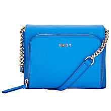 Buy DKNY Bryant Park Saffiano Leather Small Pocket Across Body Bag Online at johnlewis.com