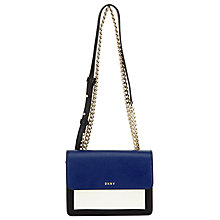 Buy DKNY Bryant Park Saffiano Leather Mini Flap Across Body Bag Online at johnlewis.com