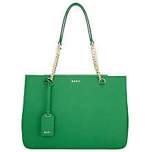 Buy DKNY Bryant Park Saffiano Leather Shopper Bag Online at johnlewis.com