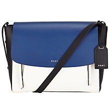Buy DKNY Greenwich Smooth Calf Leather Small Messenger Bag Online at johnlewis.com
