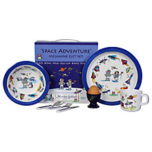 Buy Martin Gulliver Space Adventure Melamine Dinner Set Online at johnlewis.com