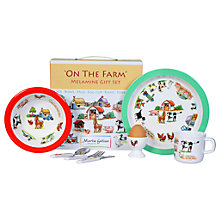 Buy Martin Gulliver On The Farm Melamine Dinner Set Online at johnlewis.com