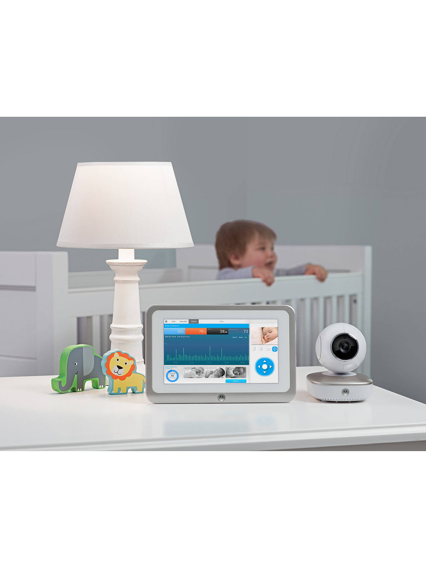 Motorola Smart Nursery Humidifier at John Lewis & Partners