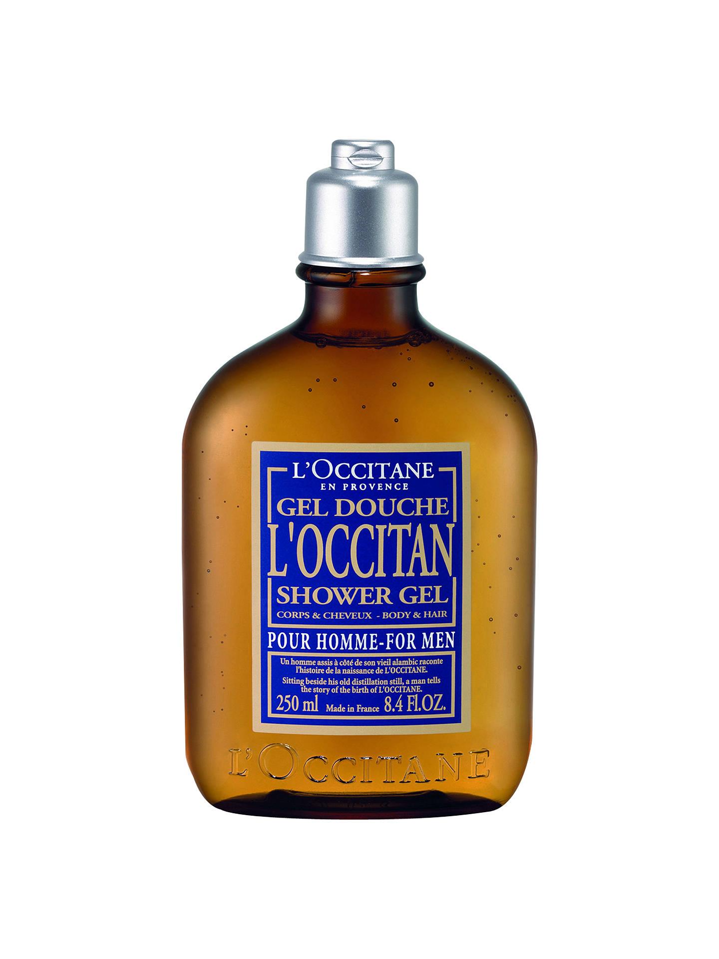 L Occitane For Men Hair Body Shower Gel 250ml At John Lewis