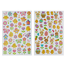 Easter decorations easter bunny john lewis buy john lewis novelty easter stickers online at johnlewis negle Choice Image