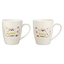 Buy Ceramic Easter Egg Mugs, Set of 2 Online at johnlewis.com