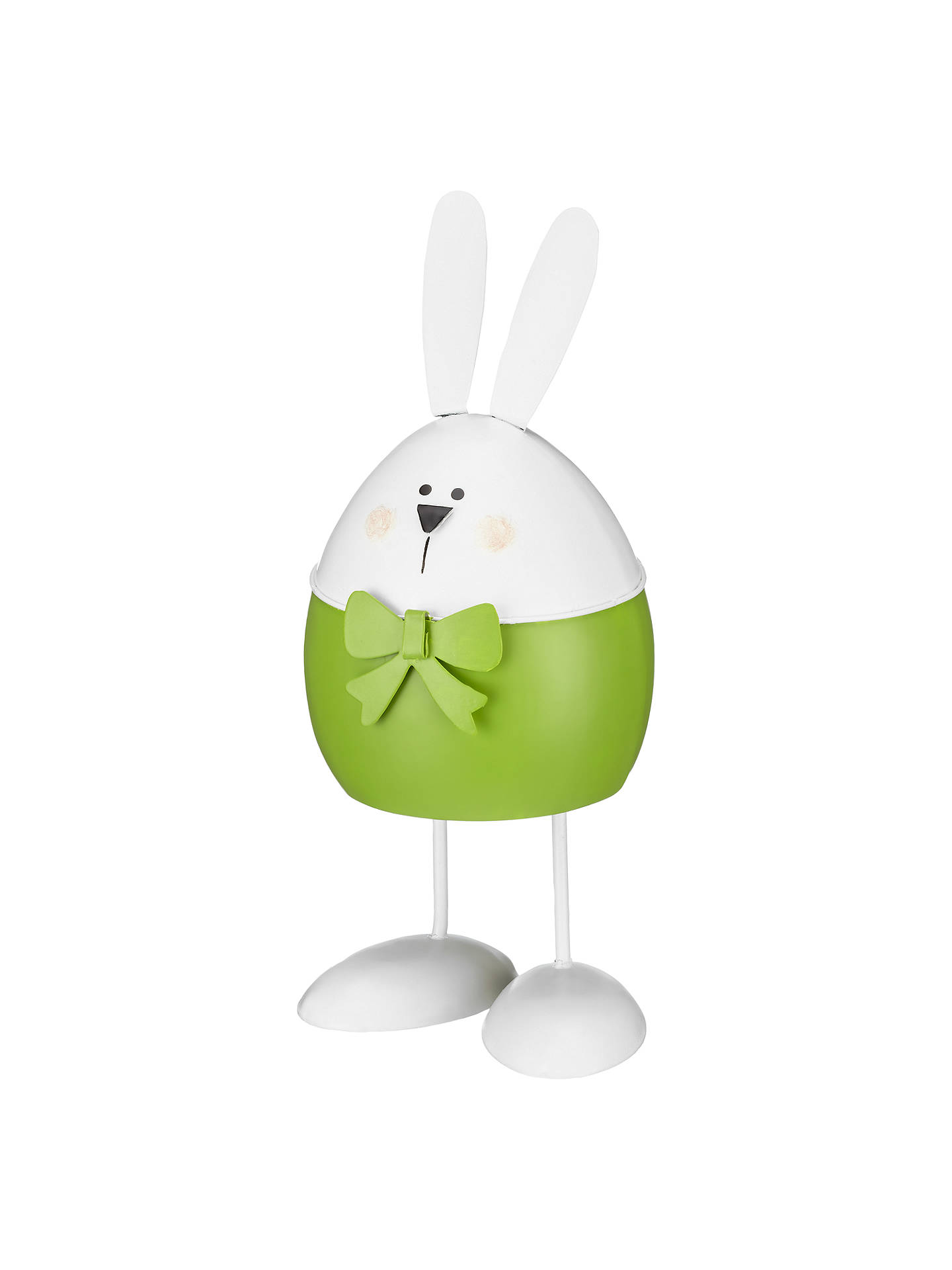 BuyJohn Lewis Wobbling Easter Bunny, Green Online at johnlewis.com