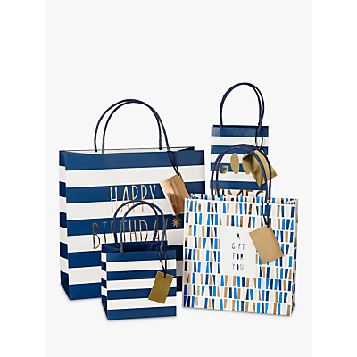Image of Bellybutton Bubble Navy Gift Bag