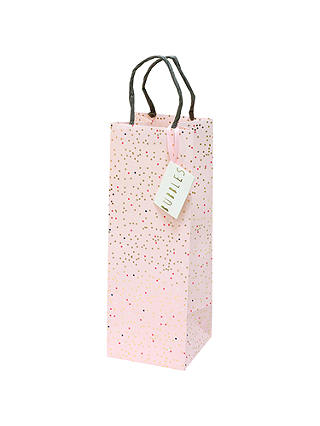 Buy Bellybutton Bubble Pink Gift Bag, Bottle Online at johnlewis.com