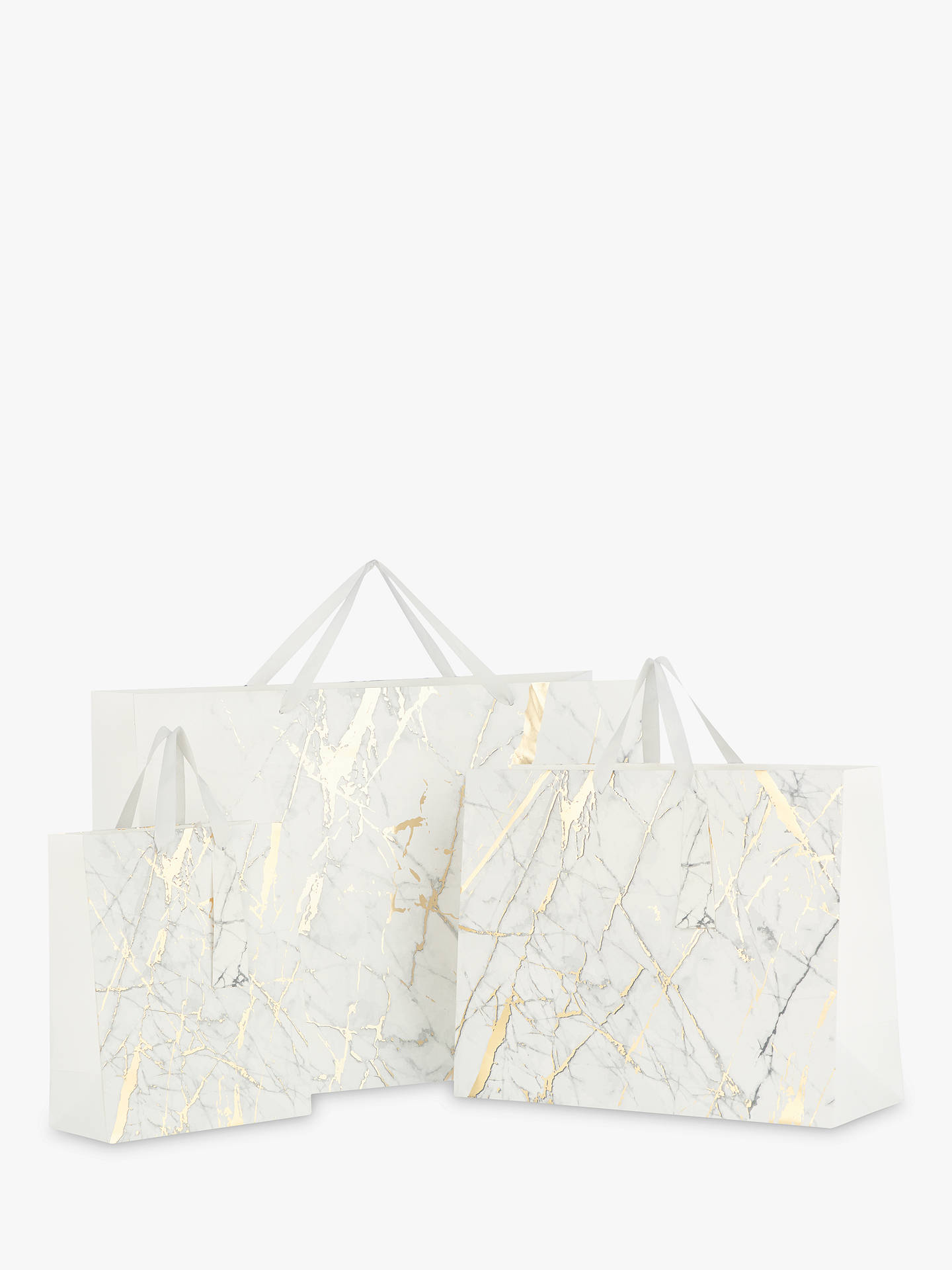 John Lewis Partners Marble Gift Bag At John Lewis Partners