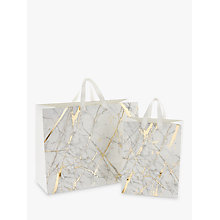 Buy John Lewis Marble Gift Bag Online at johnlewis.com