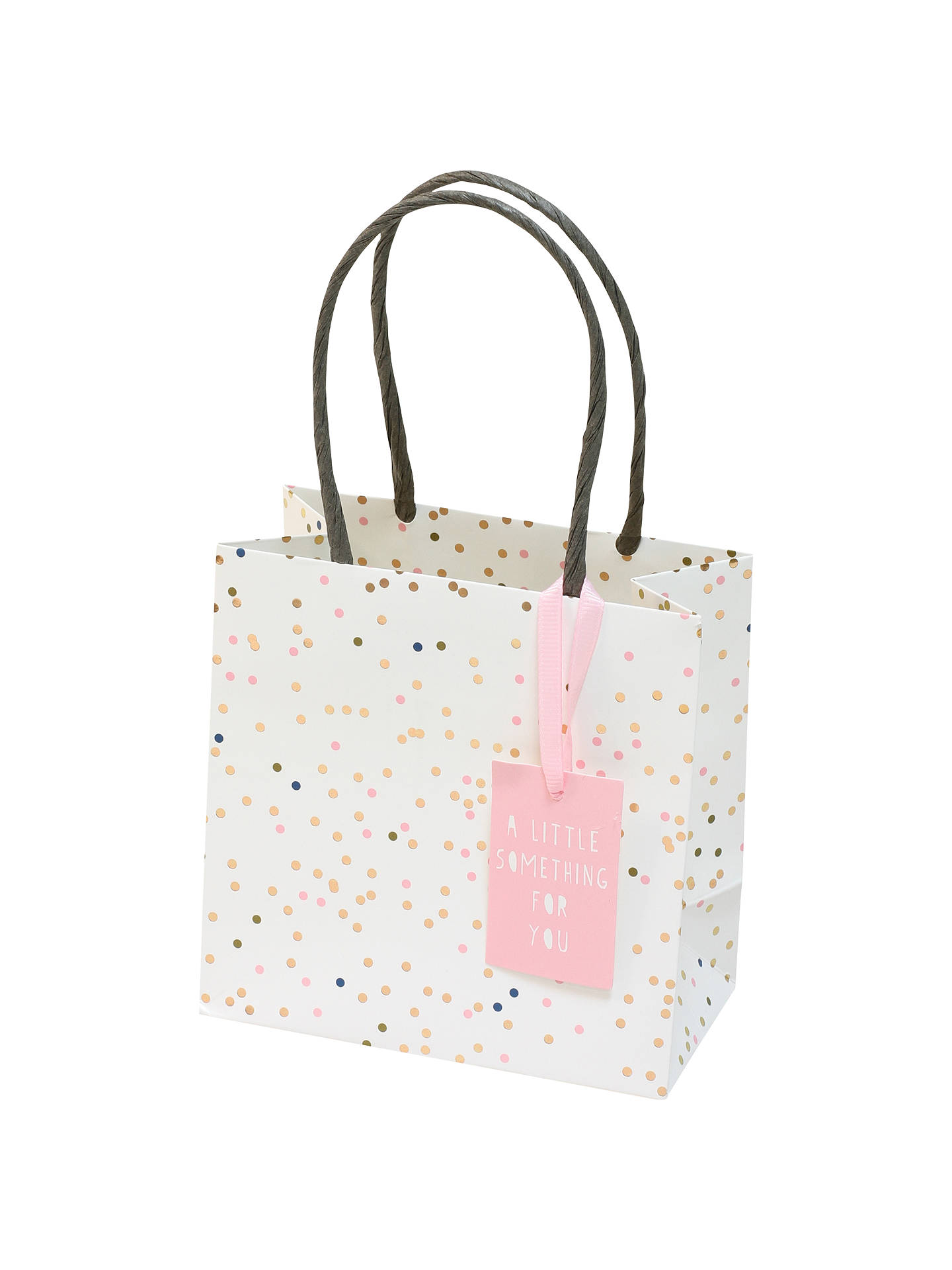 BuyBellybutton Bubble Pink Gift Bag, Mini Online at johnlewis.com