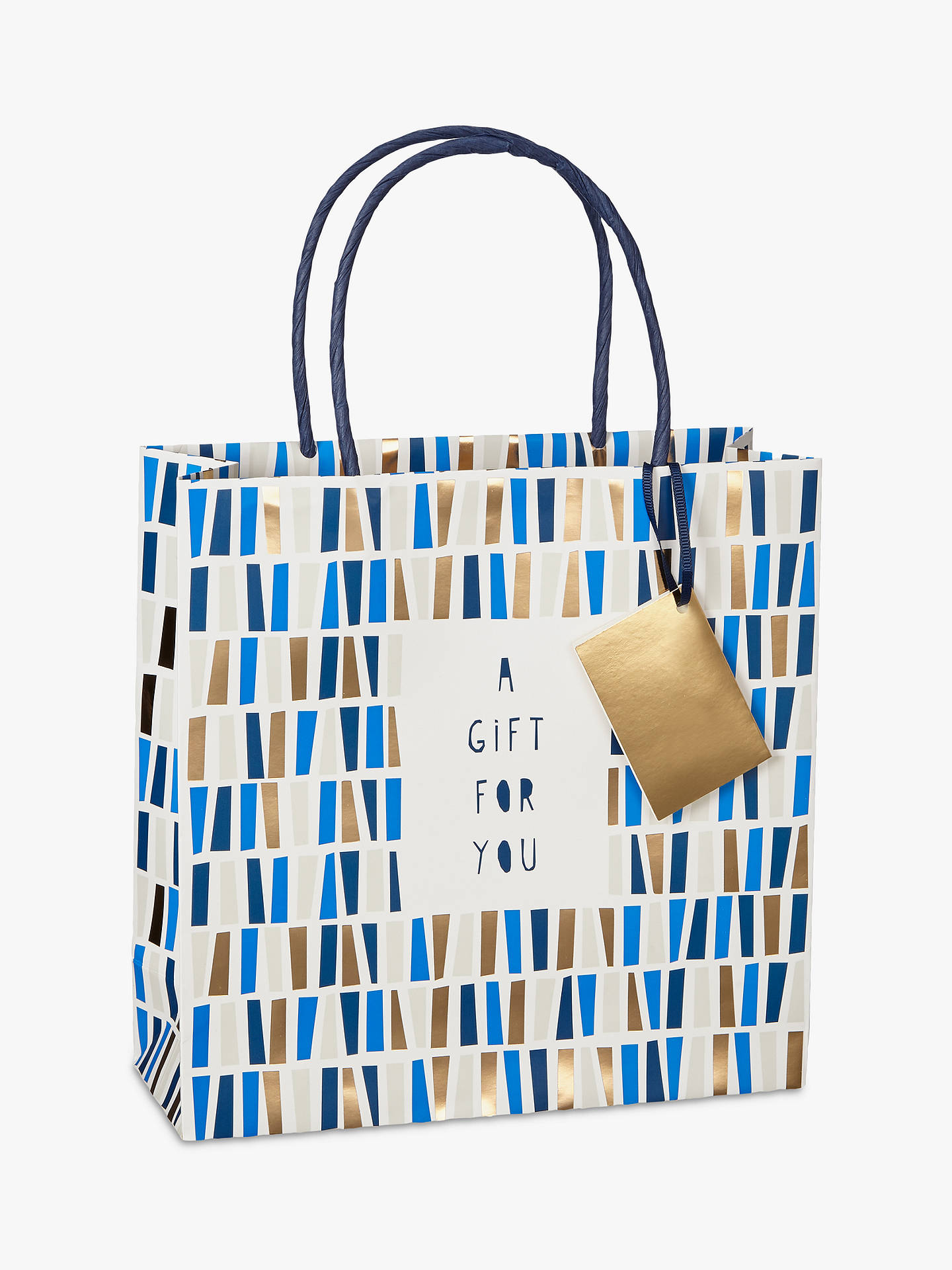 BuyBellybutton Bubble Graphic Gift Bag, Medium Online at johnlewis.com