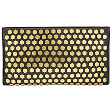 Buy AND/OR Clea Leather Stud Clutch Bag Online at johnlewis.com