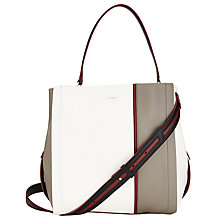 Buy DKNY Greenwich Leather Bucket Bag, Multi Online at johnlewis.com