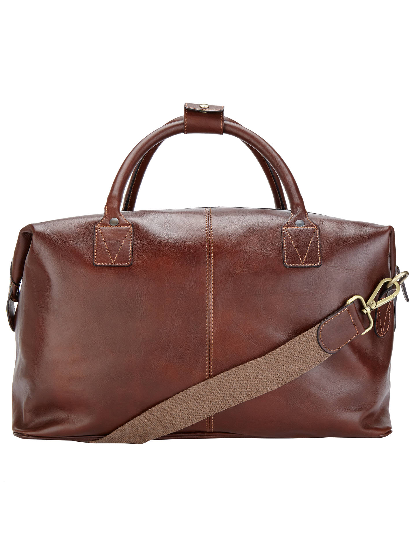 BuyJohn Lewis   Partners Made in Italy Leather Holdall abaf9eeda1fd2
