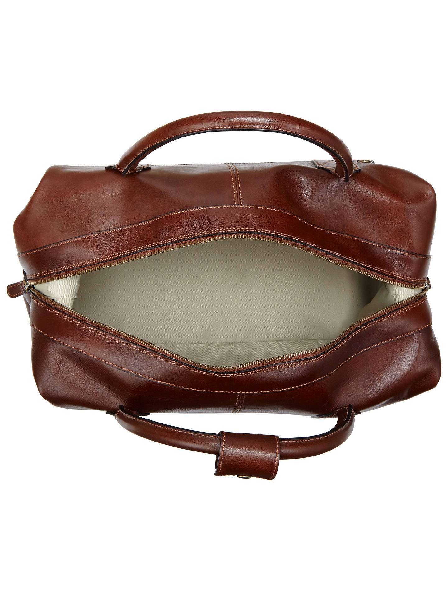 ... BuyJohn Lewis   Partners Made in Italy Leather Holdall afec1e4841f7e