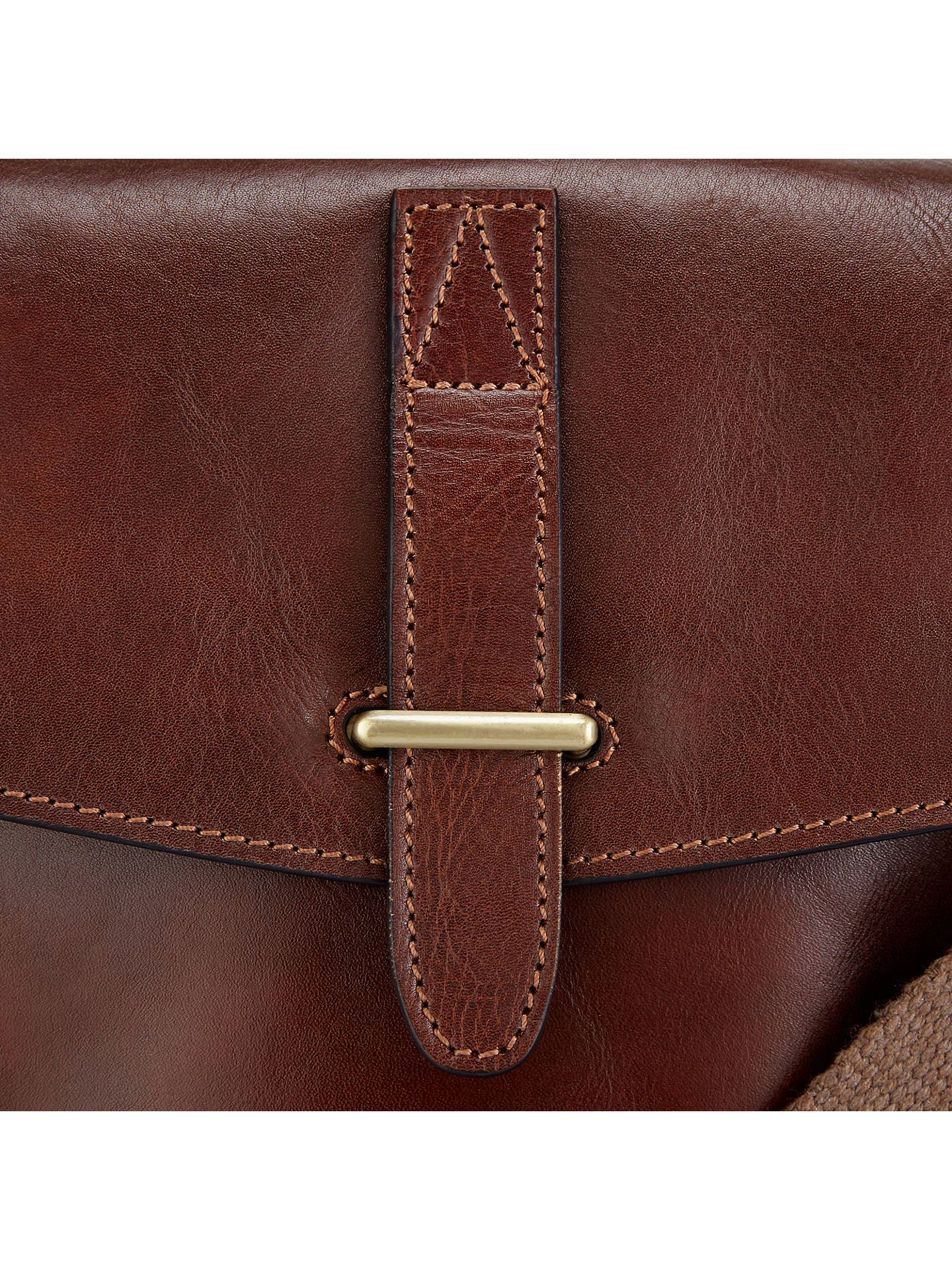 c4d2110d15d8 ... Buy John Lewis   Partners Made in Italy Leather Reporter Bag