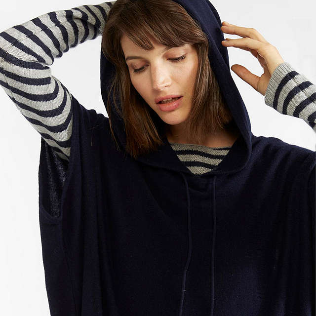 BuyGerard Darel Weekend Pullover Jumper, Navy Online at johnlewis.com